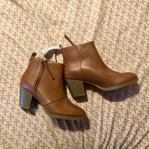 NEW Old Navy Tan Booties